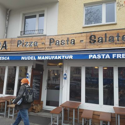 Pizzaria vira