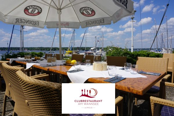 Clubrestaurant am Wannsee im MYCvD