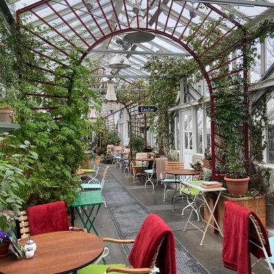 Café in der Gartenakademie